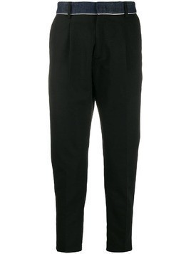 Low Brand tapered trousers - Black