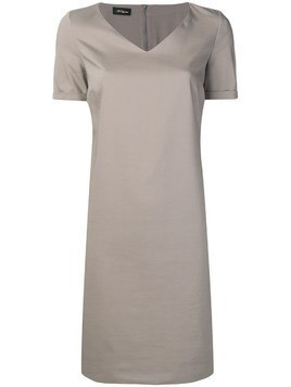 Les Copains neutral grey day dress - Neutrals