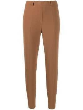 Blanca high-rise cropped trousers - NEUTRALS