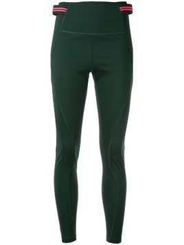 LNDR double stripe fitted leggings - Green