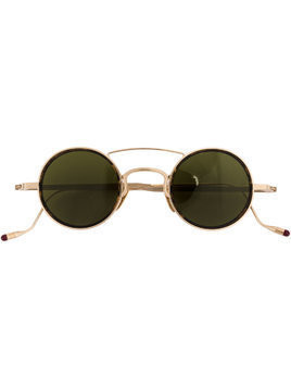 Jacques Marie Mage round frame sunglasses - Metallic