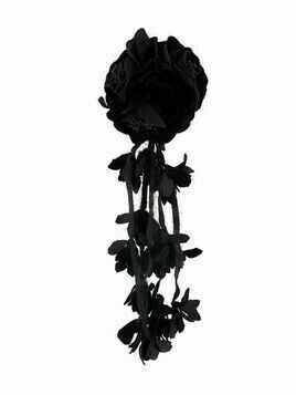 Philosophy Di Lorenzo Serafini drop flower brooch - Black