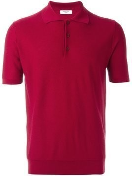 Fashion Clinic Timeless knitted polo shirt - Pink