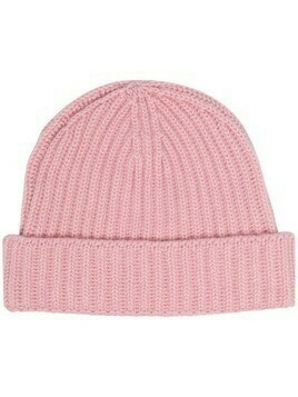 Pringle of Scotland ribbed cashmere beanie - Pink
