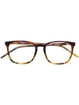 Ray-Ban square acetate glasses - Brown