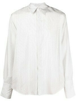 Christian Wijnants grid-check shirt - White