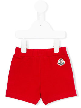Moncler Kids casual shorts - Red