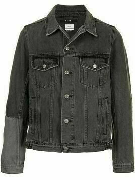 Ksubi contrast-panel denim jacket - Black
