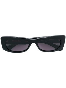 Christian Roth Dreesen rectangular sunglasses - Black