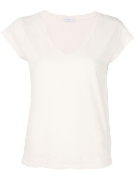 Fine Edge V-neck T-shirt - Neutrals