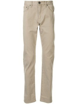 Kent & Curwen low-rise straight-leg jeans - Brown