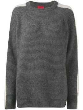 Cashmere In Love Morgan fine knit jumper - Grey