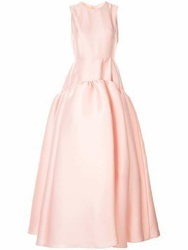 Huishan Zhang sleeveless full gown - Pink