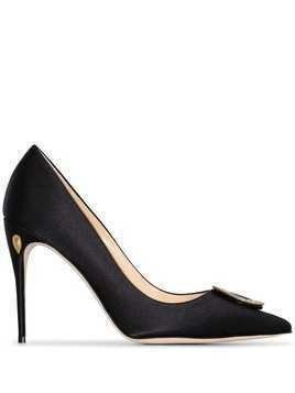 Jennifer Chamandi Lorenzo 105mm pumps - Black