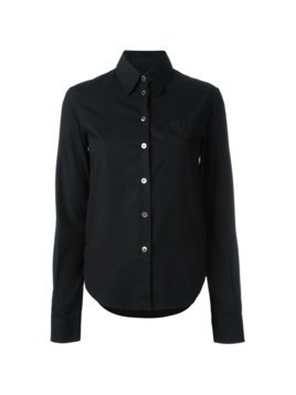 Helmut Lang Pre-Owned fitted shirt - Black
