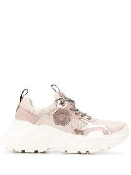 Moa Master Of Arts mesh panel sneakers - PINK