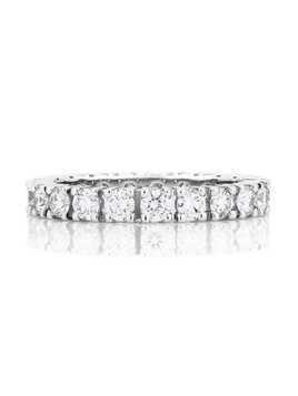De Beers Platinum DB Classic Full Eternity diamond 2.5mm band