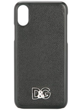 Dolce & Gabbana logo iPhone X case - Black
