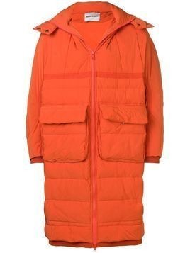 Henrik Vibskov thermo padded coat - ORANGE