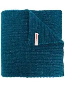 Indress knitted scarf - Blue