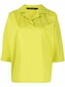 Sofie D'hoore notched-collar shirt - Yellow