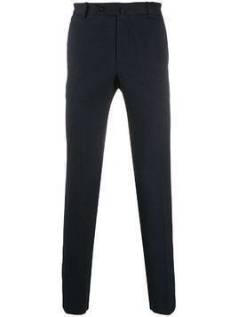 Incotex slim-fit tailored trousers - Blue
