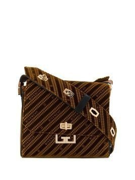 Givenchy medium Eden velvet cross-body bag - Brown