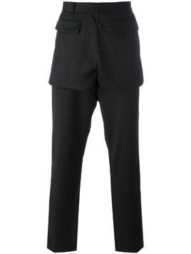 D.Gnak overlay trousers - Black