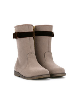Miki House zip fastening boots - Grey