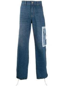 Ader Error Forza side pocket jeans - Blue