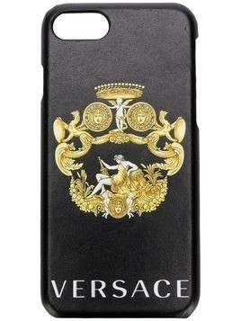 Versace front emblem Iphone 7/8 case - Black