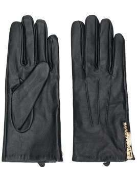 Barbour zip-fastening gloves - Black