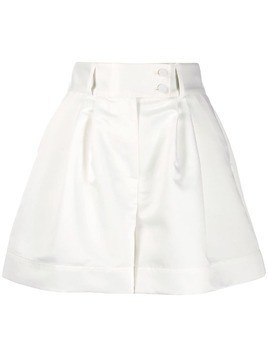 Styland wide-leg tailored shorts - White