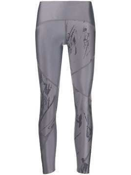 Nike printed logo leggings - Grey