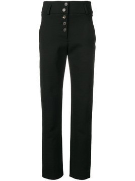 Carven high-waisted trousers - Black