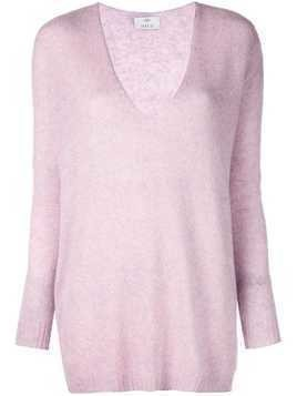 Allude V-neck sweater - Pink