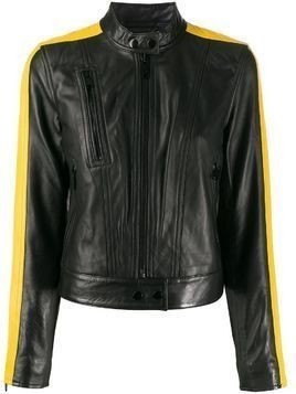 Michael Michael Kors racer stripe jacket - Black