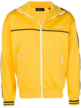 Diesel zipped sport jacket - Yellow & Orange