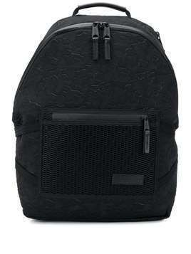 Eastpak embossed camouflage backpack - Black
