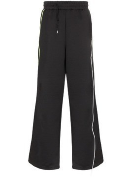 Ader Error wide leg track pants - Black