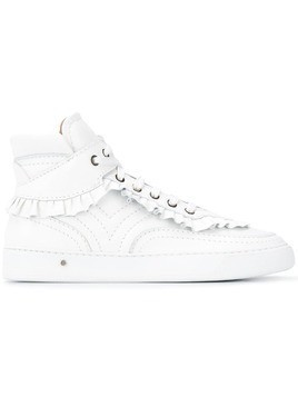 Laurence Dacade frill-trim sneakers - White
