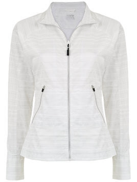 Track & Field Refletiva fitted jacket - White
