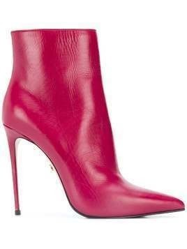 Le Silla Eva 120mm ankle boots - Red