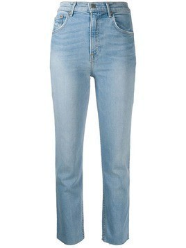 Grlfrnd tapered leg jeans - Blue