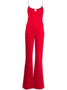 Galvan Phoebe jumpsuit - Red