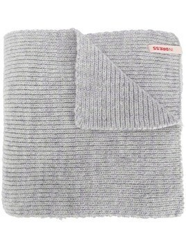 Indress chunky knit scarf - Grey