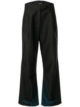 Kiko Kostadinov wide-leg trousers - Black