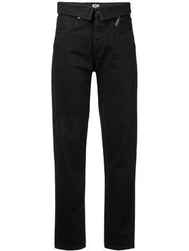 Jean Atelier straight-leg trousers - Black