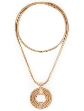 Lara Bohinc 'Apollo' long necklace - Metallic