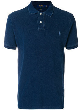 Polo Ralph Lauren - embroidered logo polo shirt - Herren - Cotton - M - Blue